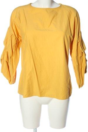 Primark Schlupf-Bluse blassgelb Casual-Look