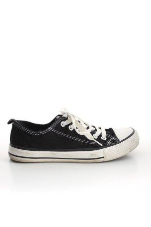 Primark Zapatos brogue negro-blanco look casual