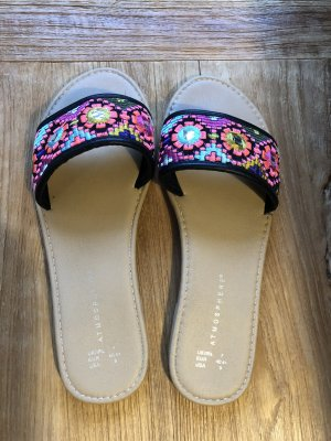 Primark Schuhe Sandalen wie neu 40 41 neon Pink Lila