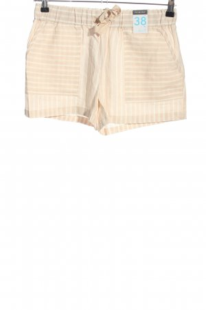 Primark Shorts nude-creme Streifenmuster Casual-Look
