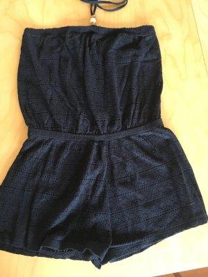 Primark Spitzen Strand Jumpsuit schwarz