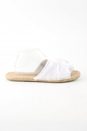 Primark Beach Sandals white casual look