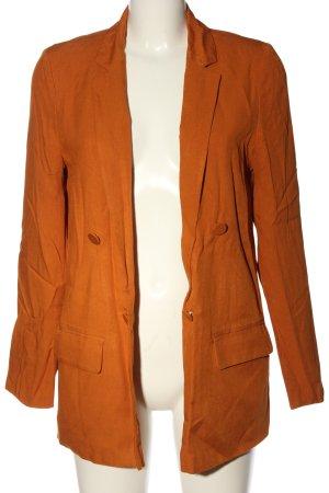 Primark Blazer in maglia arancione chiaro stile casual