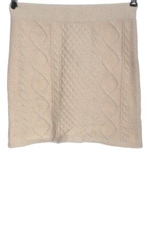 Primark Jupe tricotée crème style décontracté