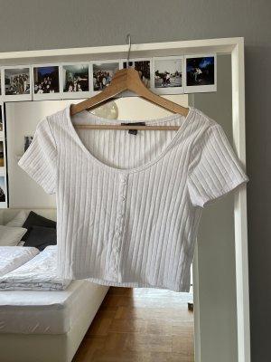 PRIMARK T-Shirt mit Knopfleiste