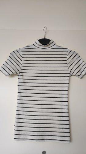 Primark T-Shirt mit Stehkragen Rollkragen Gestreift Stripes Klassiker