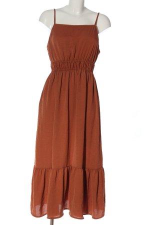 Primark Trägerkleid braun Elegant