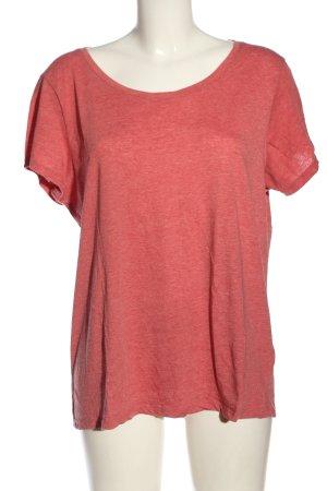 Primark U-Boot-Shirt rot meliert Casual-Look