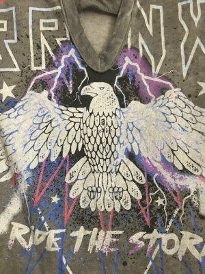 PRIMARK | ungetragenes, cooles T-Shirt Adler Motiv