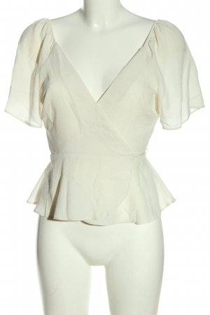 Primark Wraparound Blouse natural white casual look