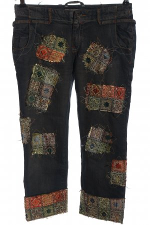 primo piano 3/4 Length Jeans multicolored casual look