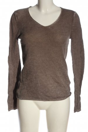 Princess Cashmere Jumper brown animal pattern casual look