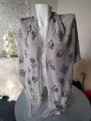 Princess goes Hollywood 100% Cashmere Tuch Schal Tom & Jerry