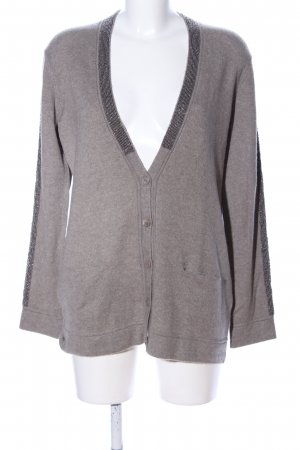 Princess goes Hollywood Cardigan hellgrau meliert Casual-Look