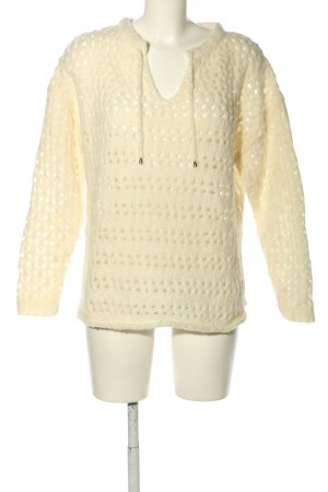 Princess goes Hollywood Grobstrickpullover creme Zopfmuster Casual-Look