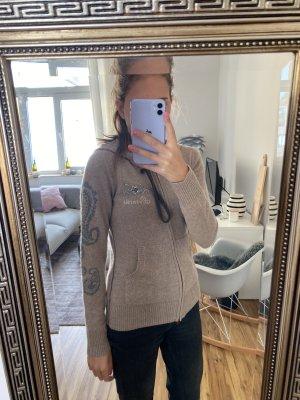 Princess goes Hollywood Giacca in maglia marrone chiaro