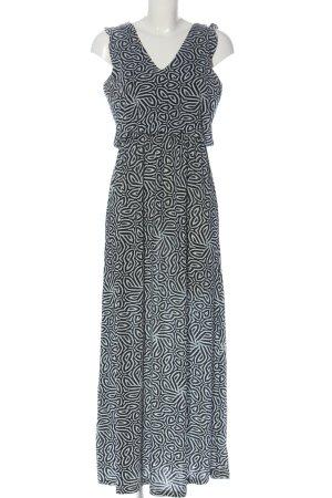 Princess goes Hollywood Maxi abito nero-bianco stampa integrale stile casual