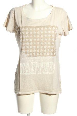 Princess goes Hollywood Print-Shirt wollweiß-weiß Motivdruck Casual-Look