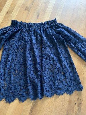 Princess goes Hollywood Lace Blouse dark blue