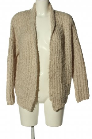 Princess goes Hollywood Cardigan in maglia bianco sporco stile casual