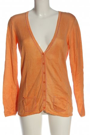 Princess goes Hollywood Knitted Cardigan light orange casual look