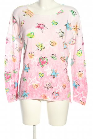 Princess goes Hollywood Strickpullover abstraktes Muster Casual-Look
