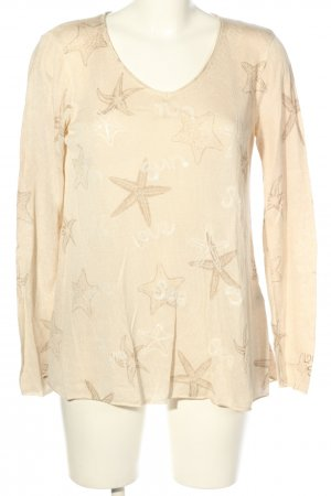 Princess goes Hollywood Strickpullover creme Motivdruck Casual-Look