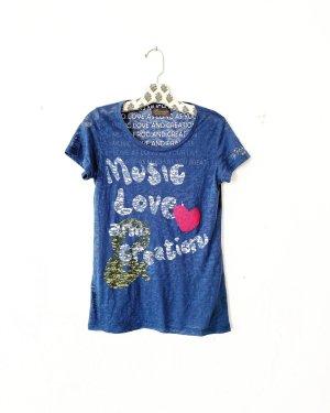 princess goes hollywood  • t-shirt • blau • basics