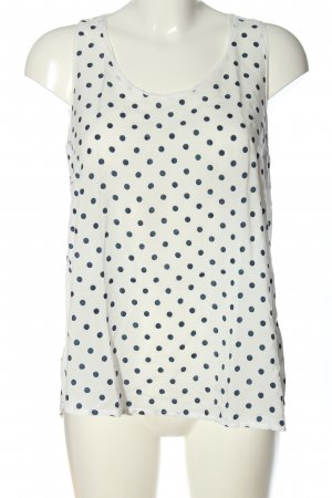 Princess goes Hollywood Tank Top white-blue spot pattern casual look