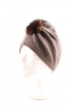 Princess goes Hollywood Knitted Hat grey brown-dark brown