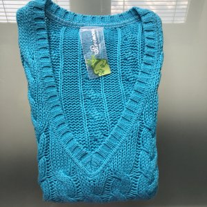 Princess goes Hollywood Fine Knitted Cardigan turquoise