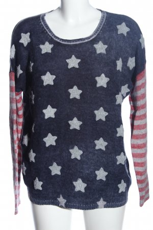 Princess goes Hollywood Wool Sweater allover print casual look