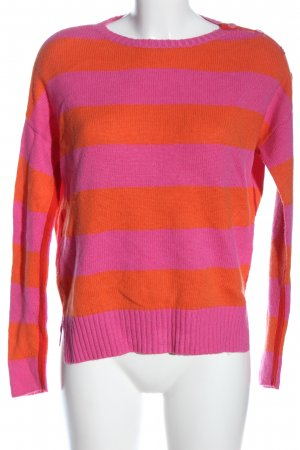 Princess goes Hollywood Wollpullover pink-hellorange Streifenmuster Casual-Look
