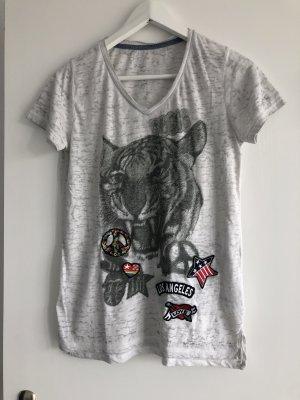 Princess Love T Shirt in grau meliert