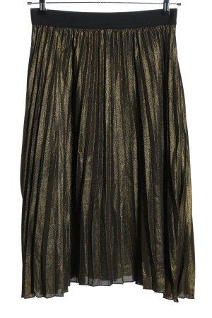 Princess goes Hollywood Falda plisada caqui-negro elegante