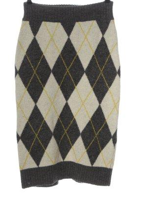 Pringle of Scotland x H&M Spódnica z dzianiny Na całej powierzchni