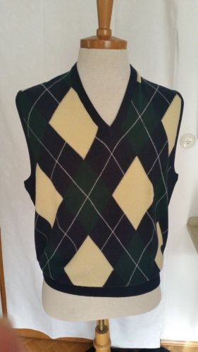Pringle of Scotland Fine Knitted Cardigan dark blue-forest green