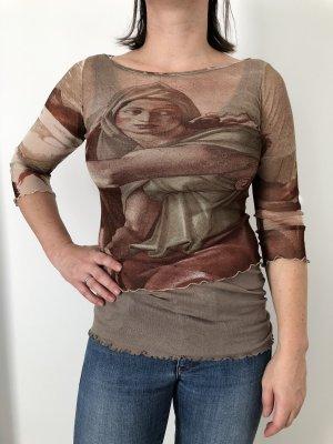 Mötivi Camisa de malla multicolor