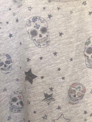 Print Shirt mit Totenköpfen