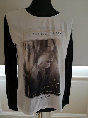 printed Langarm shirt