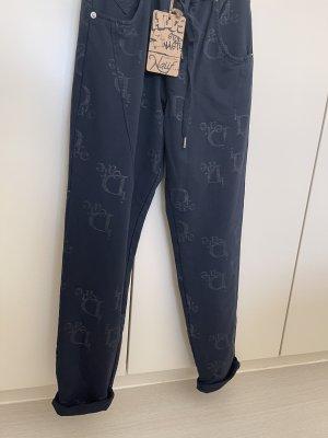 Naiif Pantalone cinque tasche blu scuro