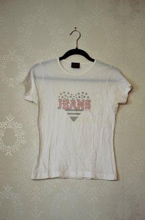 Printshirt H.I.S Jeans 90s Retro Glitzer