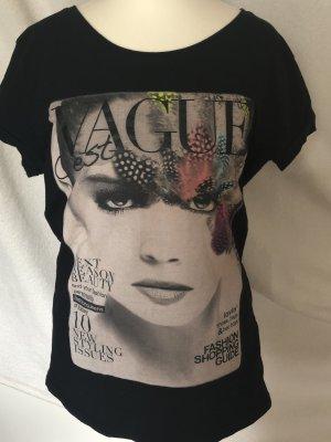 Ann Christine T-shirt zwart Katoen