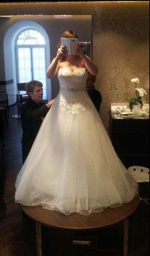 Prinzessinnen Brautkleid mit kompletter Ausstattung