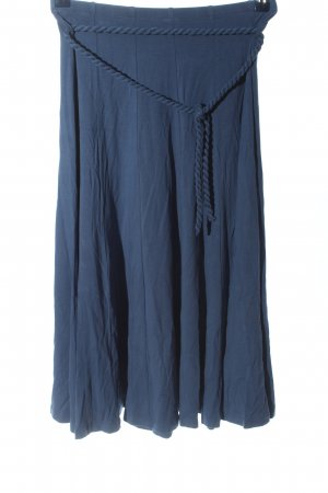 Privacy Please Flared Skirt blue casual look