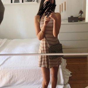 Privacy Please Kleid Streifen Sommer Ibiza Neckholder Top