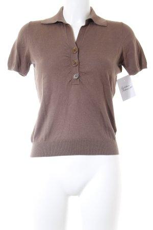 Private Industries Polo-Shirt hellbraun klassischer Stil