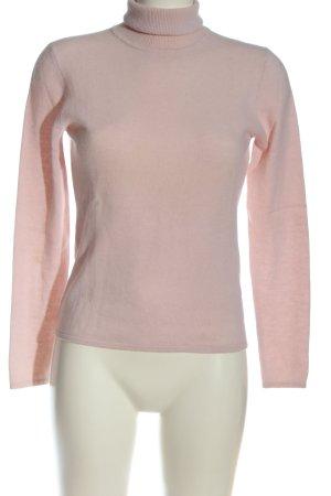 Private Industries Sweter z golfem różowy W stylu casual