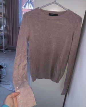Zara Cienki sweter z dzianiny Wielokolorowy