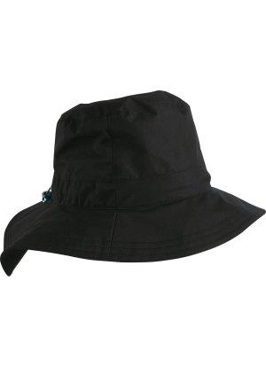 Regenhoed zwart Polyester